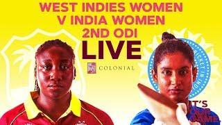 ????LIVE West Indies Women vs India Women | 2nd Colonial Medical Insurance ODI 2019