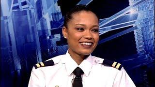 In conversation with Rezaan Captieux a young female commercial pilot trainee