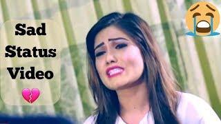 Sad WhatsApp Video Status | Heart Touching Sad Songs Status Female Version