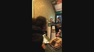 CUSTOMER PLAYS VICTIM & FREAKS OUT WHEN IGNORED