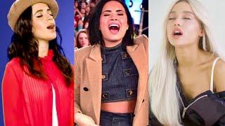 Female Singers - SLAYING High Notes Without A Microphone! (Out Of Stage)