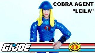 Leila the Cobra Agent  - Vintage G.I. Joe review