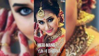New full screen ???????? Female Version ???????? Mere saathi mere sajan whatsapp status video