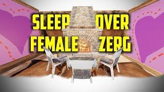 Sleep Over at a Female Compound! ( RUST )