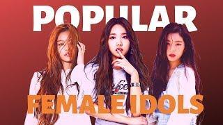 MOST POPULAR K-POP FEMALE IDOLS (May)