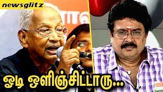 ஓடி ஒழிஞ்சுட்டாரு சேகரு : K Veeramani Kicks Out SV Sekar's Cowardly Act | Female Journalist Case