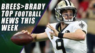 Drew Brees Will Break All QB Records & 1st All Female Broadcast Crew
