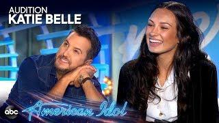 Luke Bryan COLLAPSES During Katie Belle's Audition - American Idol 2019 on ABC