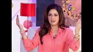 Actress Sridevi mam talks about a memorable incident during the shooting of her 1970s Telugu film