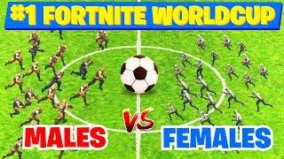 #1 Fortnite WorldCup: MALE CHARACTERS vs FEMALE CHARACTERS | Fortnite Funny & WTF Moments #59
