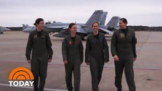 Meet The First-Ever All-Female Flyover Team | TODAY