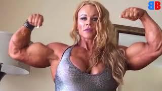 Top 4 Biggest Female Bodybuilders 2018