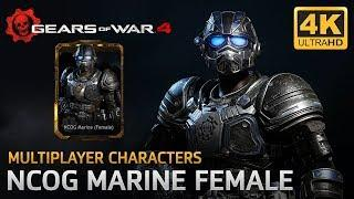 Gears of War 4 - Multiplayer Characters: NCOG Marine Female