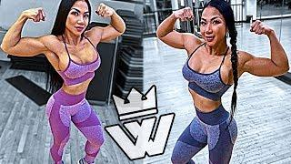 Asian MUSCLE GIRL | Bodybuilding Tina Nguyen