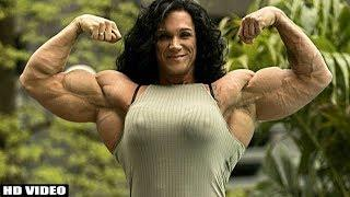Gigantic Muscles Queen | Robin Triple Dee IFBB Pro Female Bodybuilder