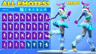 *NEW* DJ BOP SKIN SHOWCASE WITH ALL FORTNITE DANCES & NEW EMOTES! (Fortnite Season 7 Skin)
