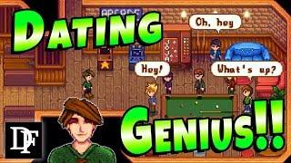 Dating Genius! Secret Cutscene! - Stardew Valley