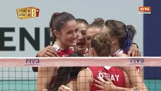 Turkey - Italy Volleyball  World Championship - 2018  Women  Group B  4th round
