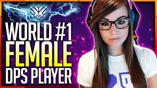 "WORLD#1 DPS FEMALE PLAYER ""Barcode_ow"" STREAM Highlights! 