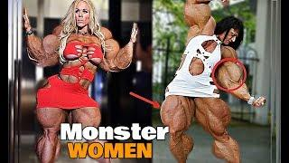TOP 4 Female Who Took Bodybuilding TOO THE EXTREME !!