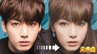 What If BTS Members Were Female | BTS Celebrities