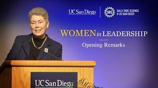 Women In Leadership: Opening Remarks