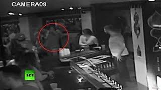 NY Club twist: Girl gropes her friend but she chokes a random passerby until he falls unconscious