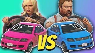 GTA 5 | Male VS Female DRIVER