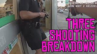 LAPD driveby, Denver shootout with tourniquet action, and ambush on female LAPD officer