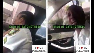 Female Cop Loses It & Pulls Out Her Gun On Her Man (Sck N Dck Ho) Out here
