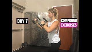 Compound Exercise Series For Women (Day 7) Legs & Biceps
