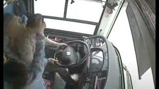 Video shows Woman Fight With Bus Driver, Causing Deadly Crash Into River  重庆万州公交车坠江前视频曝光:乘客与司机互殴