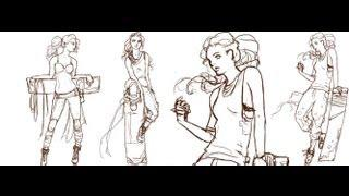 Female Character Series Part 1 - Sketching the Outline