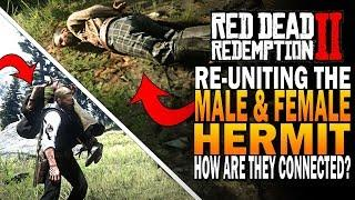 What Happens If The Hermit Man & Woman Meet? How Are They Connected? Red Dead Redemption 2 [RDR2]