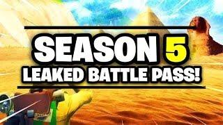 OBLIVION (FEMALE OMEGA) OUT NOW!FORTNITE| SEASON 5 LEAKED BATTLE PASS|WE GOT ELGATO BOYZZZ