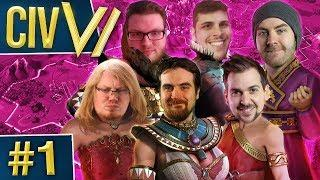 Civ VI: Ladies Night #1 - Born from Salt