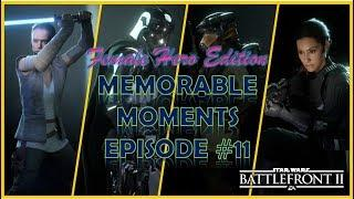 FEMALE HERO EDITION! - MEMORABLE MOMENTS ep.11 | Star Wars: Battlefront 2