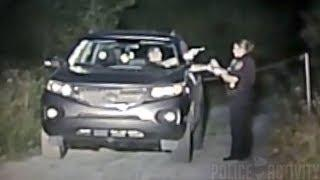Bodycam Captures Suspect Pulling Gun On Female Cop Before Getting Shot