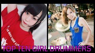 The Top Female Drummers from all over the World Show you how it's done! Amazing!