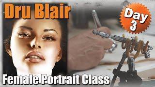 Dru Blair : Female Portrait Course Day 3