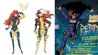 Comic Book Depictions Of Female Beauty & Strength VS. WHATEVER THE HELL THAT IS ON THE RIGHT