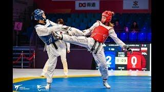 Female  57kg Round of 32|Yuanhong YIN (CHN) VS Patrycja ADAMKIEWICZ (POL)