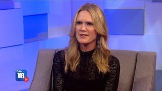 Stephanie March on female empowerment on The Social Ones set