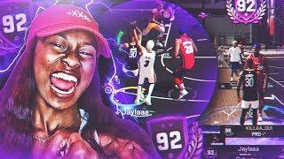 HALLOWEEN CLOTHES IS OUT FOR EVERYONE , BEST FEMALE PURE SHARPSHOOTER ON NBA2K19!!!