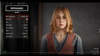 Red Dead Redemption 2 Character Creation : Cutish Asian Female Character Tutorial