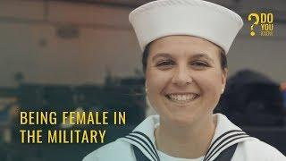 Being Female In The Military by Savannah , New York - USA