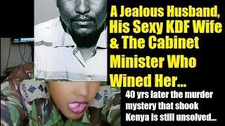 KDF Beauty's Whisky With A Cabinet Minister That Ended Tragically
