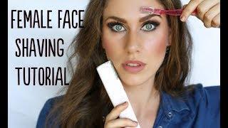 Female Face Shaving Routine For Women