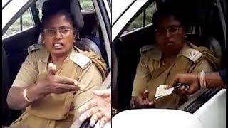 Mandya: Female cop demands Rs 50 as bribe, video goes viral