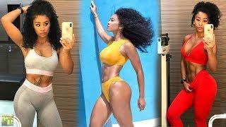 Female Fitness Video 2018 - Workout Motivation For Women - Fitness Girls Training